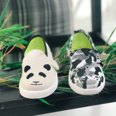 Toms Shoes x WildAid Panda Collab