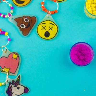 Make Your Own Emoji Wine Charms