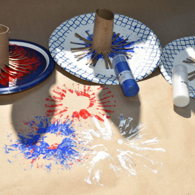 DIY Firework Painting