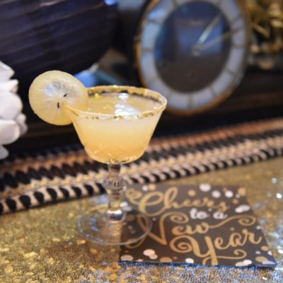 Lemon Drop Martini for your Ball Drop!